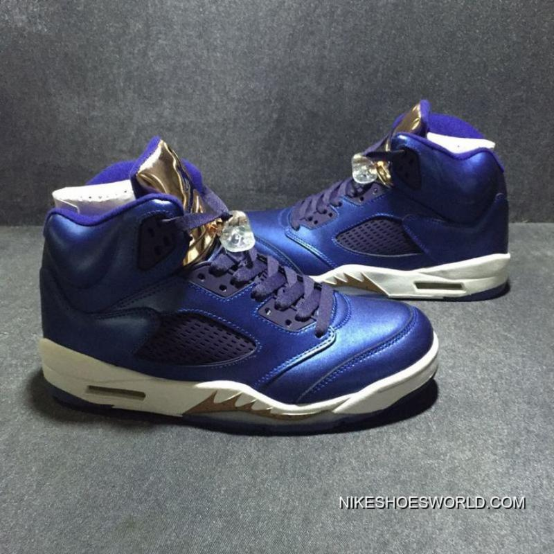 "new product c1636 9820d Air Jordan 5 ""Bronze"" Obsidian/White-Metallic Red Bronze-Bright Grape Cheap  To Buy"