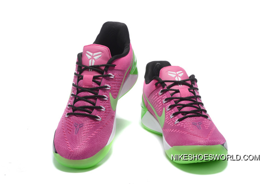 the best attitude 21b10 59b5a Girls Nike Kobe A.D. Pink Green Black Online