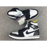 "Air Jordan 1 High Rare Air ""Black/White"" New Style"