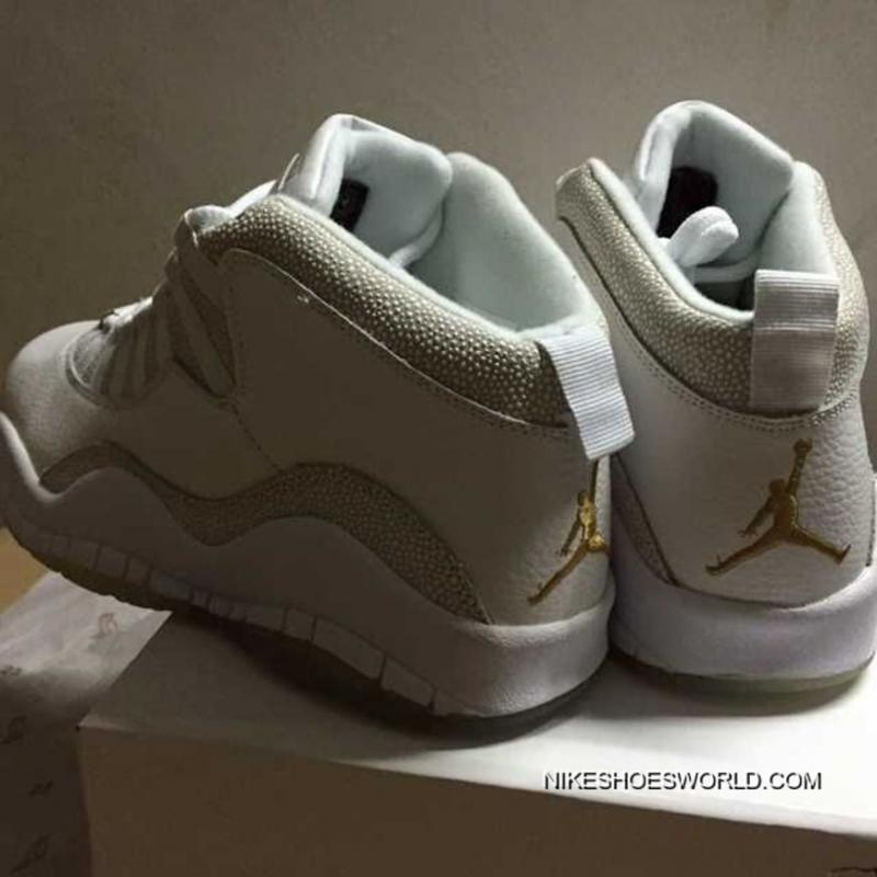 "... Air Jordan 10 Retro ""OVO"" Summit White Shoes For Sale"