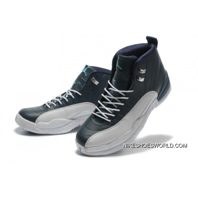 best service 77136 fdf50 Air Jordan 12 Retro Obsidian/White French Blue Top Deals