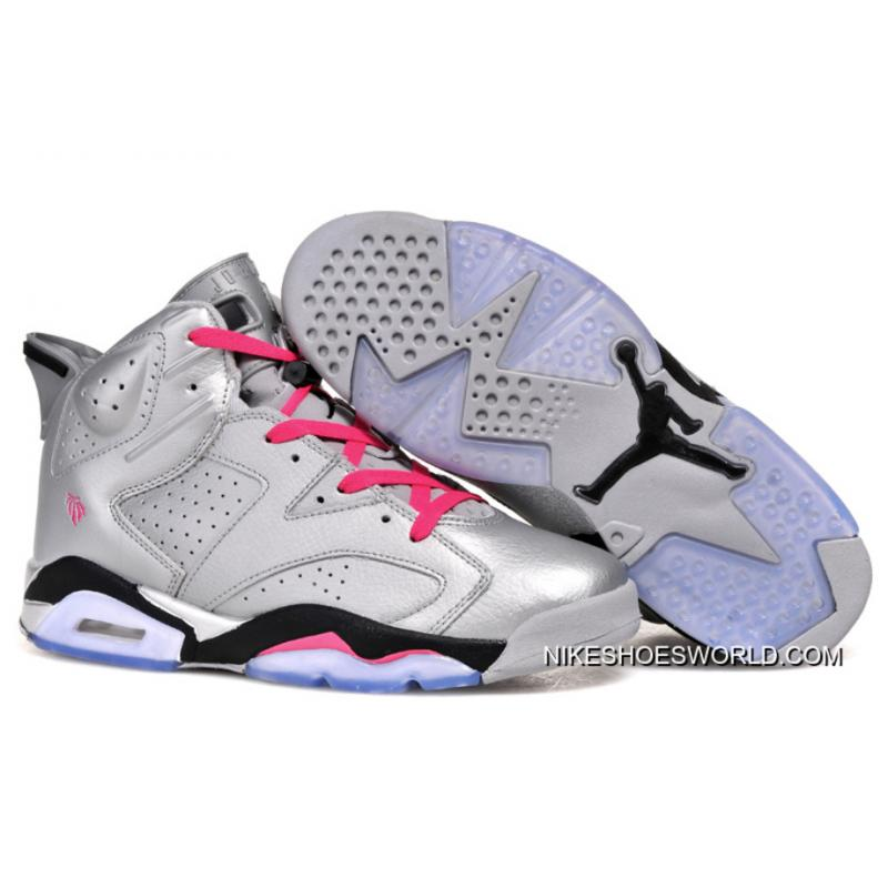 "lowest price e194f 39208 Air Jordan 6 Retro ""Valentines Day"" Metallic Silver/Vivid Pink-Black Copuon  Code"