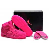 Air Jordan 5 GS All-Pink Shoes New Style