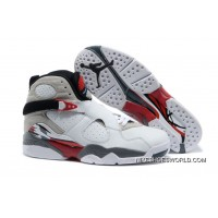 "Air Jordan 8 ""Bugs Bunny"" White/Black-True Red Lastest"