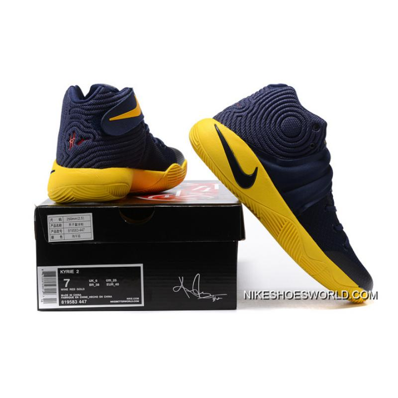 """watch a2c04 1d797 ... For Sale Girls Nike Kyrie 2 """"Cavs"""""""