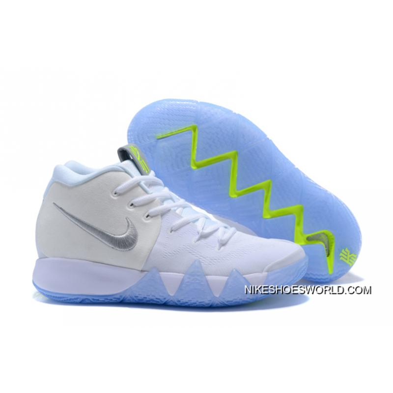 huge selection of 6931b 17fe6 New Release Nike Kyrie 4 White/Volt