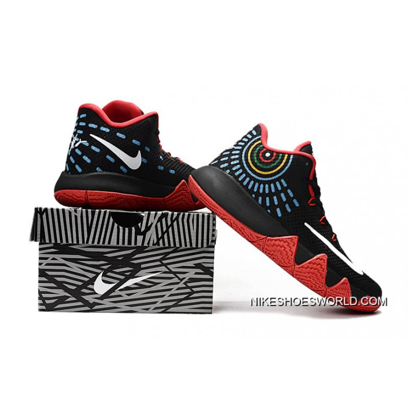 """separation shoes a66e0 267e6 For Sale Nike Kyrie 4 """"Black/Red"""""""