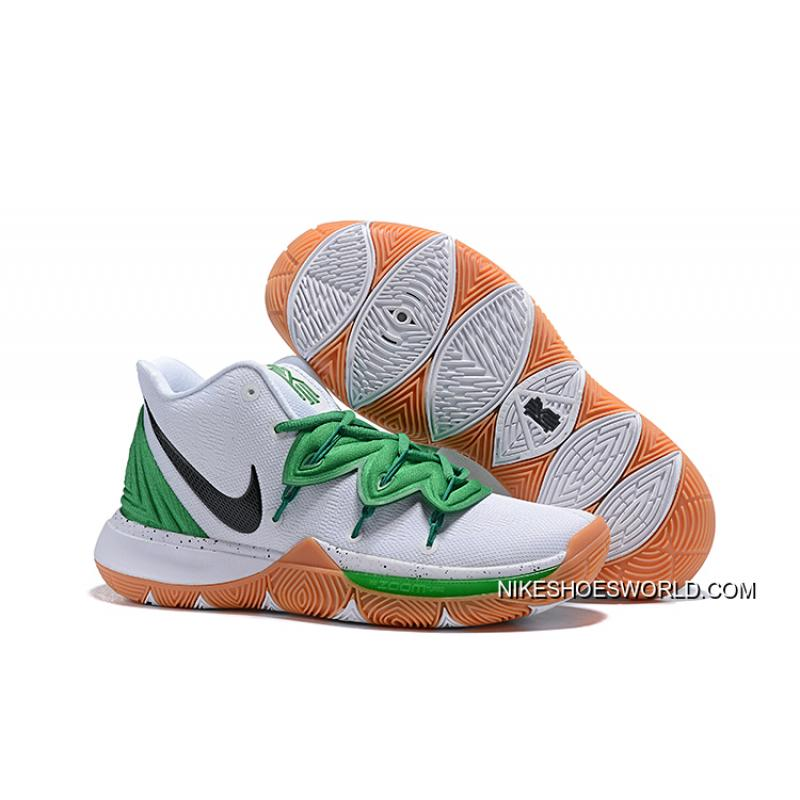 b3a4f371b085 Nike Kyrie 5 Celtics PE White Green Buy Now ...
