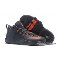 Nike LeBron Ambassador 9 Black Red Authentic For Sale