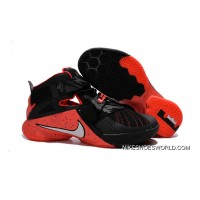 Nike LeBron Soldier 9 Black Red Basketball Shoe Copuon Code
