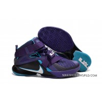 "Nike LeBron Soldier 9 ""Summit Lake Hornets"" Basketball Shoe Authentic"