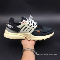 Men OFF-WHITE X Nike Air Presto SKU:96578-211 Outlet