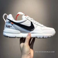Men Off White X Nike Craft Mars Yard Running Shoe SKU:67687-249 Top Deals
