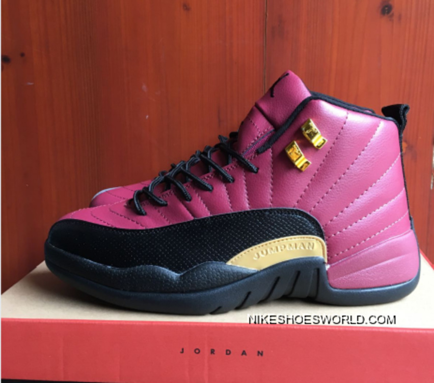 huge discount ee7a4 27c7d Air Jordan 12 Pink Black Gold PE Copuon Code