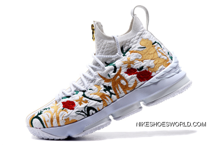 """separation shoes a7b64 a3442 New Style KITH X Nike LeBron 15 """"Floral"""""""